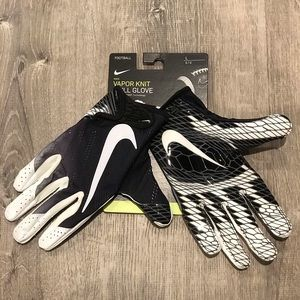 Nike Vapor Knit Football Gloves Men's Large New